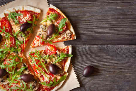 Hollathans - Pizza or pasta meal for two including a glass of Prosecco each - Save 53%