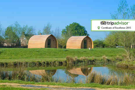 Wall Eden Farm Holidays - Two or Three  nights glamping break for two with hot tub access  - Save 53%