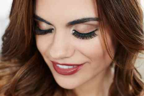 Addictions Hair & Beauty - Semi Permanent Lashes with Brow Tint and Brow Shape  - Save 46%