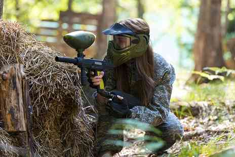 Commando Elite Paintball - 100 Paintballs and Lunch - Save 71%