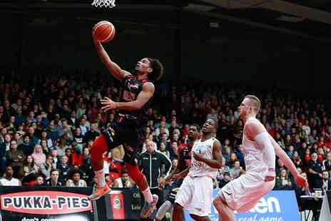 Leicester Riders - Leicester Riders Basketball Game Ticket for One or Family - Save 0%