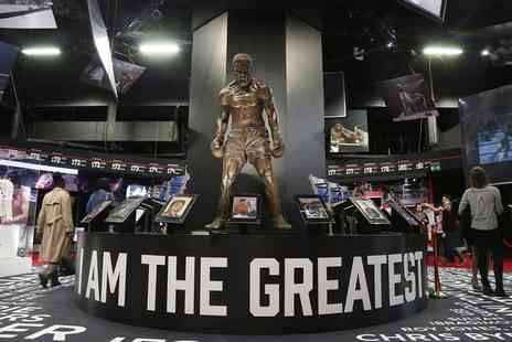 Hospitality Line - I Am The Greatest Muhammad Ali Exhibition Entry With Two Course Meal - Save 20%