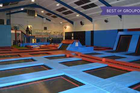 Boing Zone Trampoline Park - 60 Minute Trampolining Session  - Save 30%