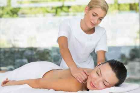 Ederra hair & beauty salon - Choice of Full Body Massage with Optional Facial - Save 47%