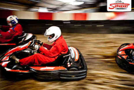 Supakart - Grand Prix Go Karting Experience - Save 51%