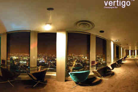 Vertigo 42 Champagne Bar - Sharing Platter and Champagne Cocktail for Two - Save 47%