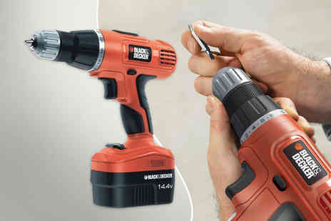 Capital Stores - Black and decker cordless drill  - Save 54%