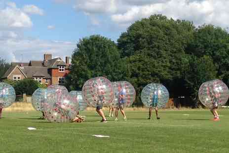 West Midlands Bubble Football - Bubble Football For Up to 15 Players - Save 29%