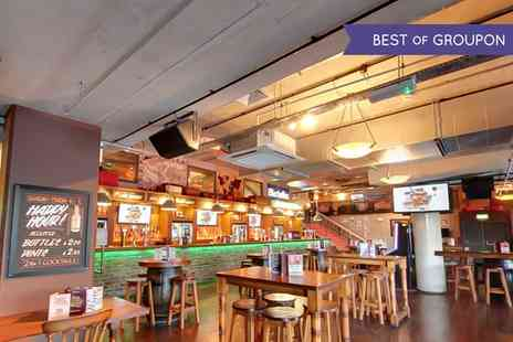Bierkeller - Meal with Stein of Beer, Shot and Pretzel  - Save 50%