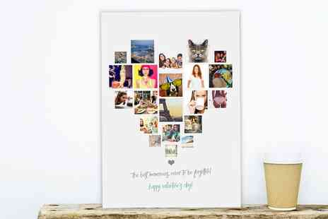 Prints With Feelings - Four Styles Photo Collage Prints - Save 86%