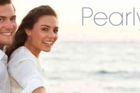 Pearlys - Laser Teeth Whitening With Three Power Whitening Applications - Save 77%