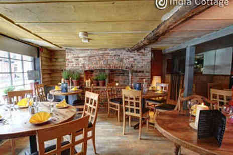 India Cottage - Two Course Indian Meal for Two with Rice - Save 57%