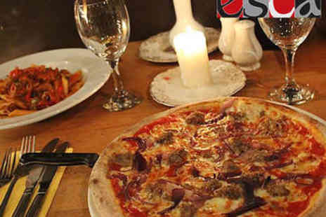 Esca - Pizza, Pasta, or Risotto Each for Two - Save 55%