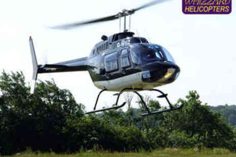 Whizzard Helicopters - Helicopter Flight for Two - Save 0%