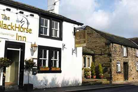 The Black Horse -  Steak Dinner for Two - Save 41%