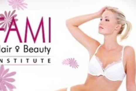 Fami Hair and Beauty Institute - Six Sessions of Laser Hair Removal on Choice of Areas such as Full Legs - Save 91%