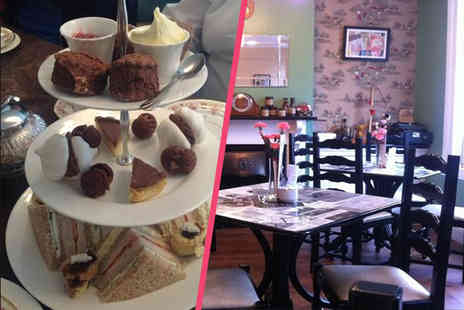 Cuppas of Rothley - Chocoholics afternoon tea for two including hot chocolate, scones, sandwiches and more  - Save 53%