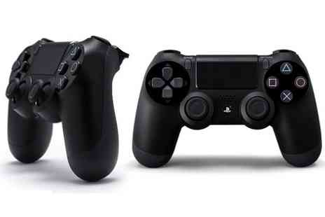 GoldBoxDeals - Sony PlayStation DualShock Four Jet Black Controller With Free Delivery - Save 35%
