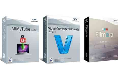 Binary Distribution - Filmora, Video Convertor Ultimate, AllMyTube Software for PC or Mac - Save 63%