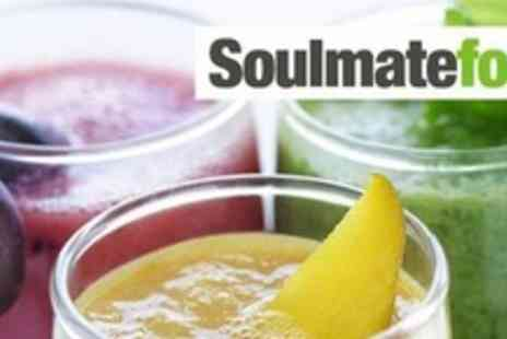 Soulmatefood - Three day Juice Master Cleanse programme - Save 60%