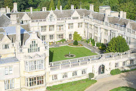 Rushton Hall  - Grand country manor with a fascinating history and a superb restaurant. - Save 32%