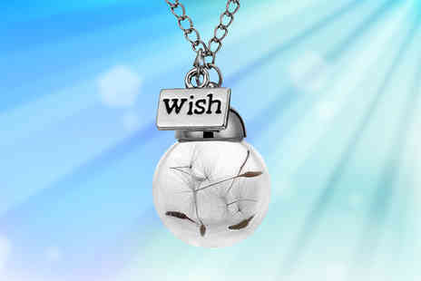 My Boutique Store - Silver Plated Make a Wish Necklace - Save 82%