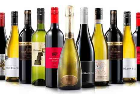 Virgin Wines Online - 13 Bottles of Wine including Bubbly - Save 66%