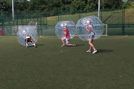 Strood Sports Centre - Bubble football session for up to 12 - Save 50%