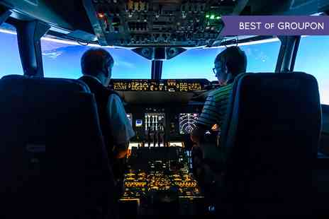 Flight Simulators Midlands - One Hour Boeing 737, 747, or Airbus A320 Experience  - Save 51%