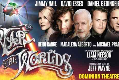 War of the Worlds Musical - Jeff Waynes Musical Version of The War of The Worlds On 13 March to 15 April - Save 47%