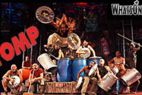 Whatsonstage.com - Stomp plus a year of theatre discounts with membership to Whatsonstage - Save 58%