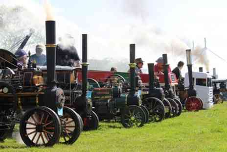 Chipping Steam Fair - Chipping Steam Fair Ticket for One, Two or a Family of Four, 28 to 30 May - Save 0%