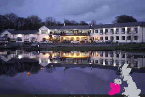 Lakeside Manor Hotel - One, Two or Three Nights Stay for Two in Double or Twin Room with Daily Full Irish Breakfast  - Save 0%