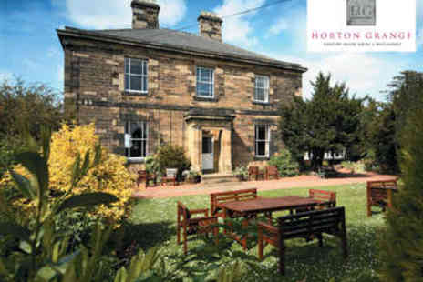 Horton Grange Country House Hotel - Two Course Dinner for Two - Save 0%