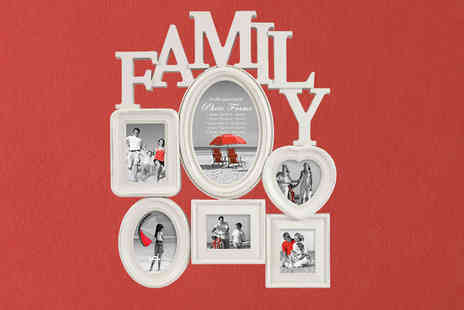 london exchainstore - Family Multi Aperture Photo Frame - Save 65%