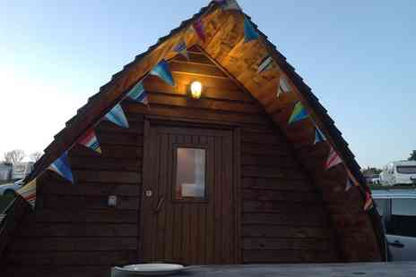 Grouse Hill Touring and Caravaning Park - Two nights wigwam stay for two adults  - Save 39%