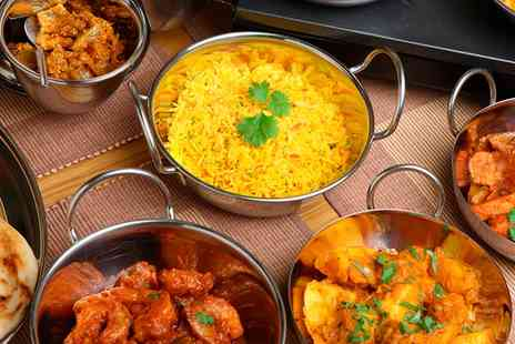 Indian Kitchen - Three Course Indian Meal with Sides and Drink for Two or Four  - Save 0%