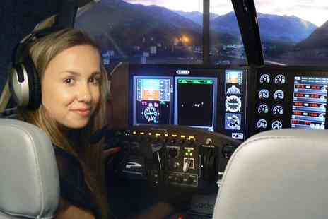 Cheshire Flying Services Simulator - Flight Simulator Experience for Up to Four - Save 52%