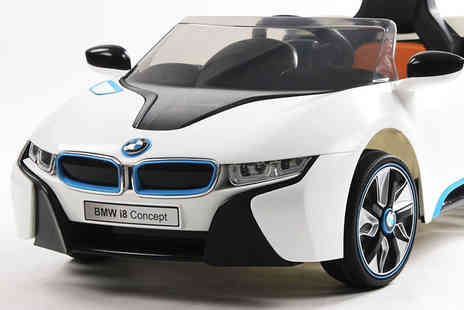 Matrix Media Distribution -  6 volt kids electric ride on BMW i8 car  - Save 46%