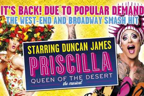 ATG Tickets - Priscilla Queen of The Desert Starring Duncan James On 11 to 14 April  - Save 33%