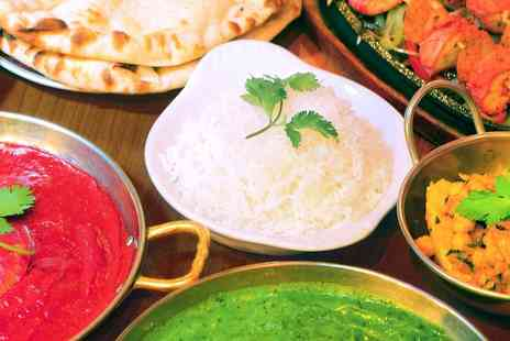 Dejavu - Two Course Meal With Rice and Naan for Two or Four With Wine  - Save 63%