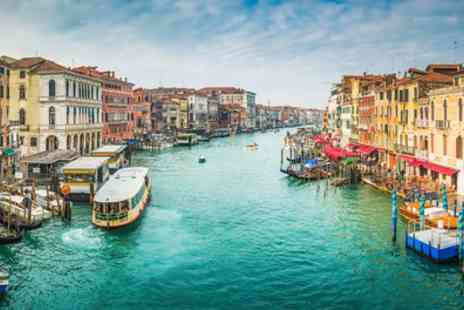 Tour Center - Four or Six Nights Lake Garda and Venice Stay With Flights And Train Transfers With Option Plus Rome  - Save 0%