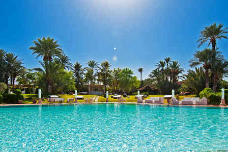 Palais Mehdi  - A life of splendour and sumptuous, fairytale beauty in the Palmeraie of Marrakech - Save 43%
