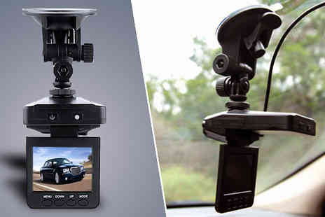 Tech Tronics - Rolson In Car Dash Camera with 8GB SD Card - Save 68%