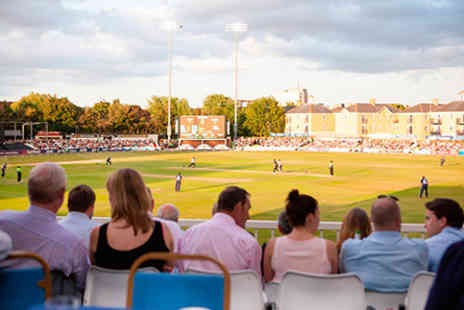 Essex County Cricket Club - Matchday with Afternoon Tea and Prosecco for Two  - Save 0%