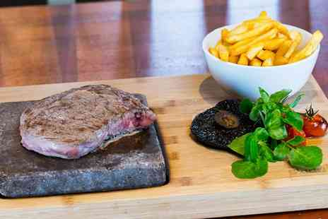 East Coast Social - Hot Stone Steak and a Bottle of Wine for Two, Four or Six  - Save 57%