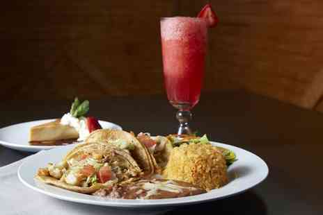 Nachos Mexican Restaurant - Mexican Main Course with Cocktail for Two or Four - Save 50%
