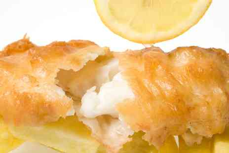 Railway Tavern Fish and Chips - Fish and Chips, Side Dish and Drink for One or Two  - Save 40%