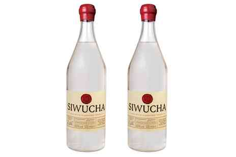 Barells & bottles - Two 50cl Bottles of Siwucha Polish Vodka With Free Delivery - Save 44%