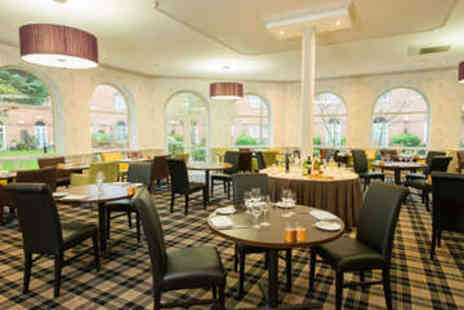 The Regency Hotel - Two Course Meal for Two with Prosecco and Spa Pass - Save 62%